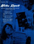 Western Reports, November, 1963, Volume 13, Issue 01