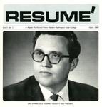Résumé, April, 1968, Volume 01, Issue 01