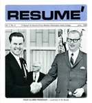 Résumé, June, 1968, Volume 01, Issue 02