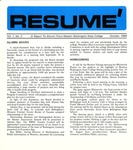 Résumé, October, 1968, Volume 01, Issue 03