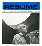 Résumé, December, 1969, Volume 01, Issue 03