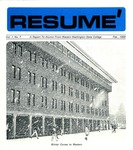Résumé, February, 1969, Volume 01, Issue 07