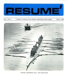 Résumé, March, 1969, Volume 01, Issue 08