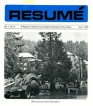 Résumé, April, 1969, Volume 01, Issue 09
