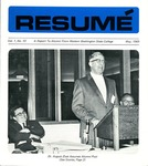 Résumé, May, 1969, Volume 01, Issue 10
