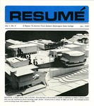 Résumé, January, 1970, Volume 01, Issue 04