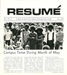 Résumé, May, 1970, Volume 01, Issue 08