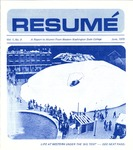 Résumé, June, 1970, Volume 01, Issue 09