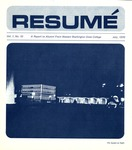 Résumé, July, 1970, Volume 01, Issue 10