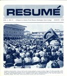 Résumé, August, 1970, Volume 01, Issue 11