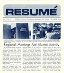 Résumé, October, 1970, Volume 02, Issue 01