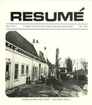 Résumé, February, 1970, Volume 02, Issue 05