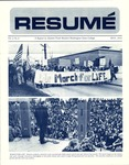 Résumé, May, 1971, Volume 02, Issue 08