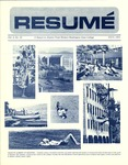 Résumé, July, 1971, Volume 02, Issue 10