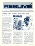 Résumé, September, 1971, Volume 02, Issue 12