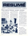 Résumé, November, 1971, Volume 03, Issue 02
