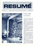 Résumé, December, 1971, Volume 03, Issue 03 by Alumni Association, WWSC