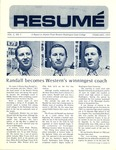 Résumé, February, 1972, Volume 03, Issue 05