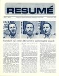 Résumé, February, 1972, Volume 03, Issue 05 by Alumni Association, WWSC