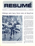 Résumé, March, 1972, Volume 03, Issue 06 by Alumni Association, WWSC