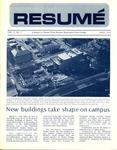 Résumé, April, 1972, Volume 03, Issue 07 by Alumni Association, WWSC