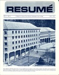 Résumé, May, 1972, Volume 03, Issue 08 by Alumni Association, WWSC