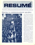 Résumé, July, 1972, Volume 03, Issue 10 by Alumni Association, WWSC