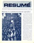 Résumé, July, 1972, Volume 03, Issue 10