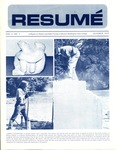 Résumé, October, 1972, Volume 04, Issue 01 by Alumni Association, WWSC