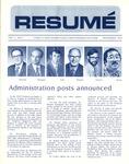 Résumé, November, 1972, Volume 04, Issue 02