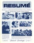 Résumé, December, 1972, Volume 04, Issue 03 by Alumni Association, WWSC