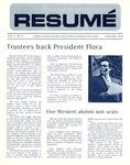 Résumé, January, 1973, Volume 04, Issue 04 by Alumni Association, WWSC