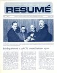Résumé, April, 1973, Volume 04, Issue 07 by Alumni Association, WWSC