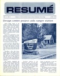 Résumé, June, 1973, Volume 04, Issue 09 by Alumni Association, WWSC