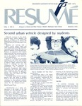 Résumé, March, 1974, Volume 05, Issue 06 by Alumni Association, WWSC
