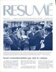 Résumé, November, 1974, Volume 06, Issue 02 by Alumni Association, WWSC