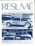 Résumé, March, 1975, Volume 06, Issue 06 by Alumni Association, WWSC