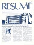Résumé, July, 1975, Volume 06, Issue 10 by Alumni Association, WWSC