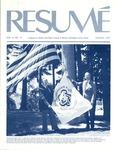 Résumé, August, 1975, Volume 06, Issue 11 by Alumni Association, WWSC