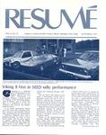 Résumé, September, 1975, Volume 06, Issue 12 by Alumni Association, WWSC