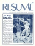 Résumé, February, 1976, Volume 07, Issue 05 by Alumni Association, WWSC