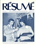 Résumé, February, 1977, Volume 08, Issue 05