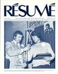 Résumé, February, 1977, Volume 08, Issue 05 by Alumni Association, WWSC
