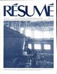 Résumé, April, 1977, Volume 08, Issue 07 by Alumni Association, WWSC