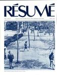 Résumé, May, 1977, Volume 08, Issue 08 by Alumni Association, WWSC