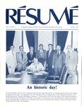 Résumé, June, 1977, Volume 08, Issue 09 by Alumni Association, WWSC