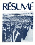 Résumé, July, 1977, Volume 08, Issue 10 by Alumni Association, WWSC