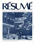 Résumé, August, 1977, Volume 08, Issue 11 by Alumni Association, WWSC