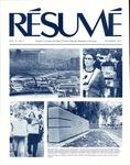 Résumé, October, 1977, Volume 09, Issue 01 by Alumni Association, WWU