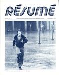 Résumé, November, 1977, Volume 09, Issue 02 by Alumni Association, WWU